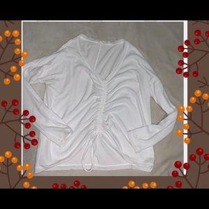 Aeropostale White Long Sleeve Shirt